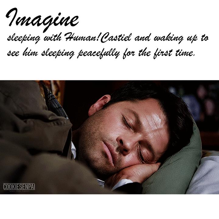 Supernatural Imagines [ON HIATUS] - [Human!Cass x Reader] - Morning