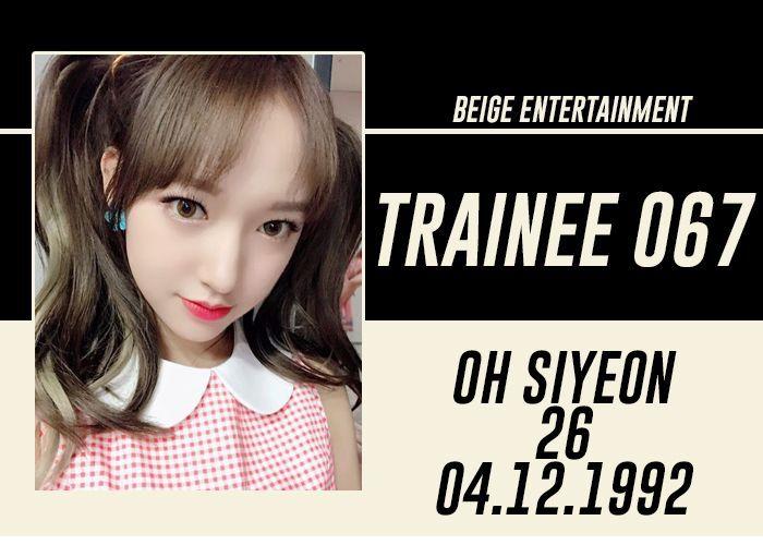 FULL NAME: Oh Siyeon