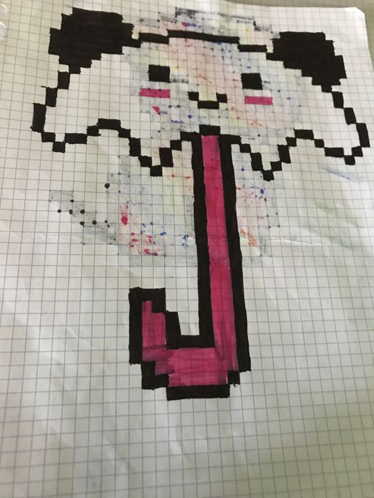 Mes Pixels Art 4 Parapluie Panda Wattpad