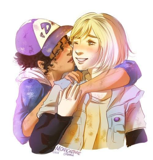 Ships Fanart Clementine And Violet The Walking Dead Game