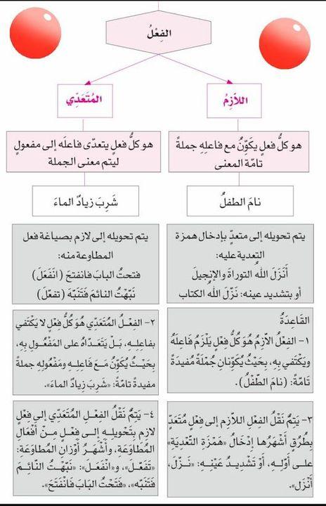 الفعل اللازم والفعل المُتعدّي - BaBabashir