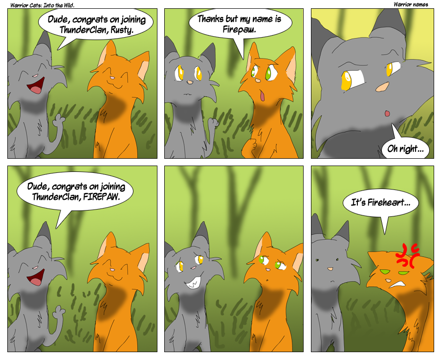 Warrior cats Randomness - Funny comics - Wattpad