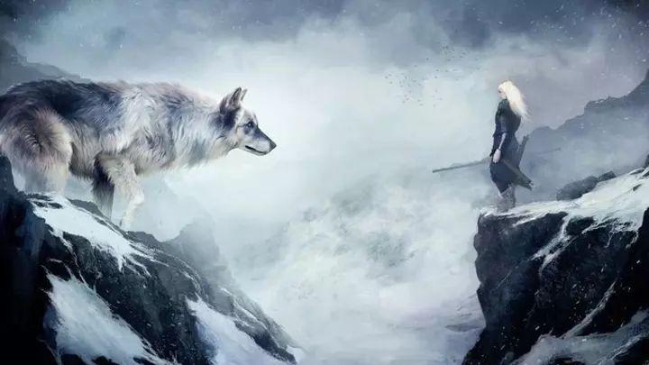 Возле Гамаюн стоял, широко раставив лапы, огромный пес и жадно втягивал ноздрями меняющийся морозный воздух