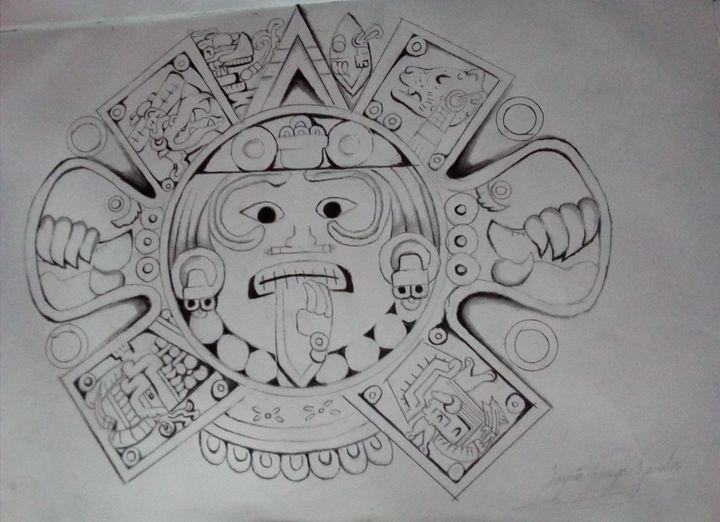 Un Libro De Dibujos Como Otros 3 Calendario Azteca Wattpad