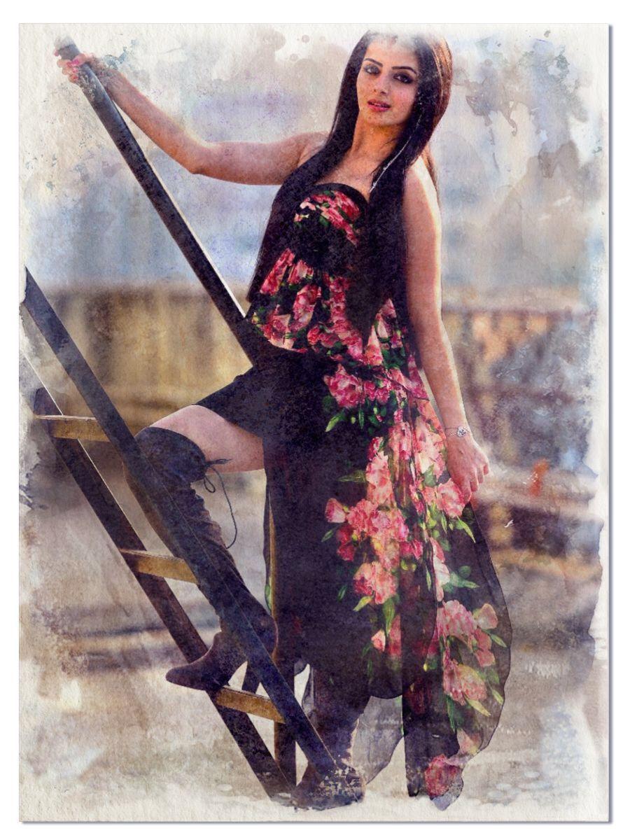 A portrait of Gauri: