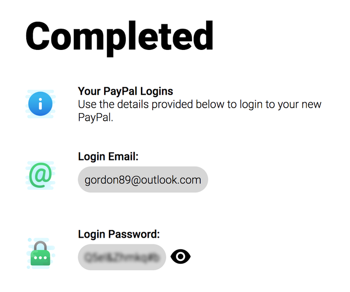 Paypal Account Generator 2020 W