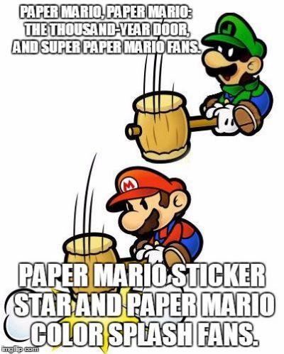 Memes Other Stuff Paper Mario Wattpad