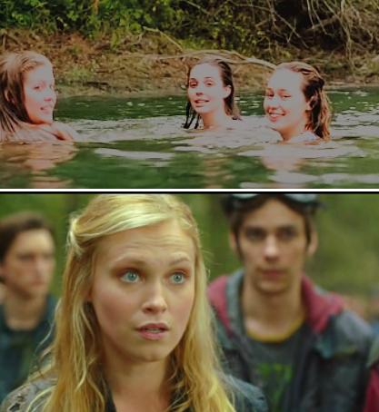 Pero cuando ésta giró su cara y cruzó su mirada con la de Clarke, a la rubia no le cabía duda: era Lexa