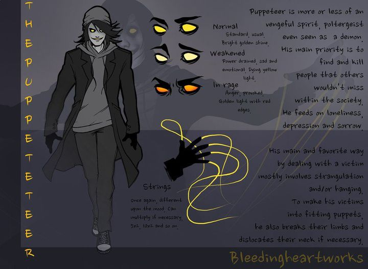 creepypasta x child reader - The Puppeteer Big Brother x