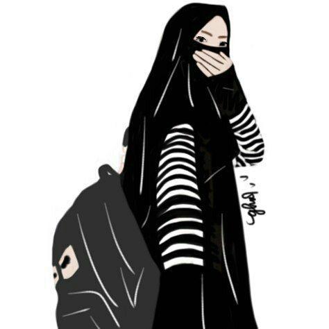 Koleksi Kartun Muslimah 7 Wattpad