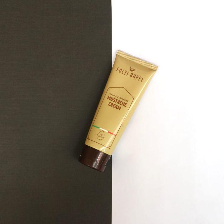 Berikut Ini Spesifikasi dan Manfaat Folti Baffi Mustache Cream-Terbuat dari bahan premium Radiancyl dan