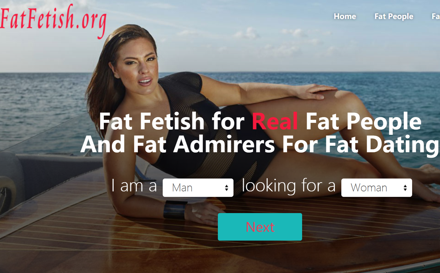 Free fat people dating site