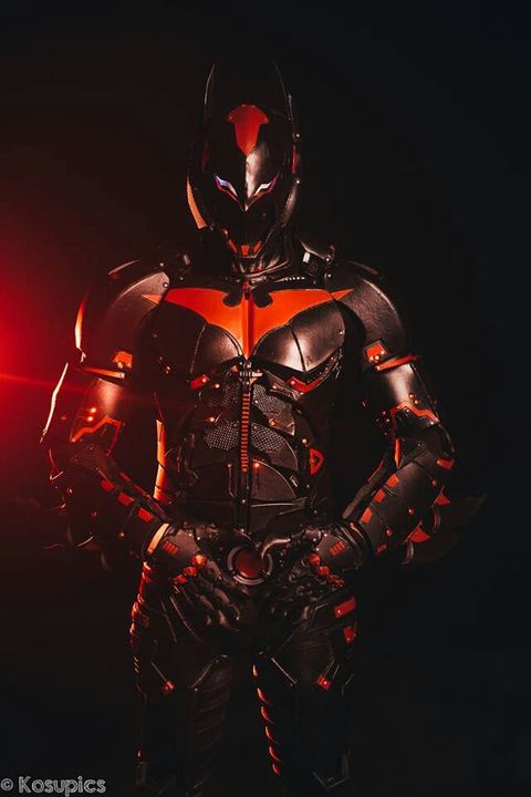 rise of batman x  male batman beyond reader x marvel and