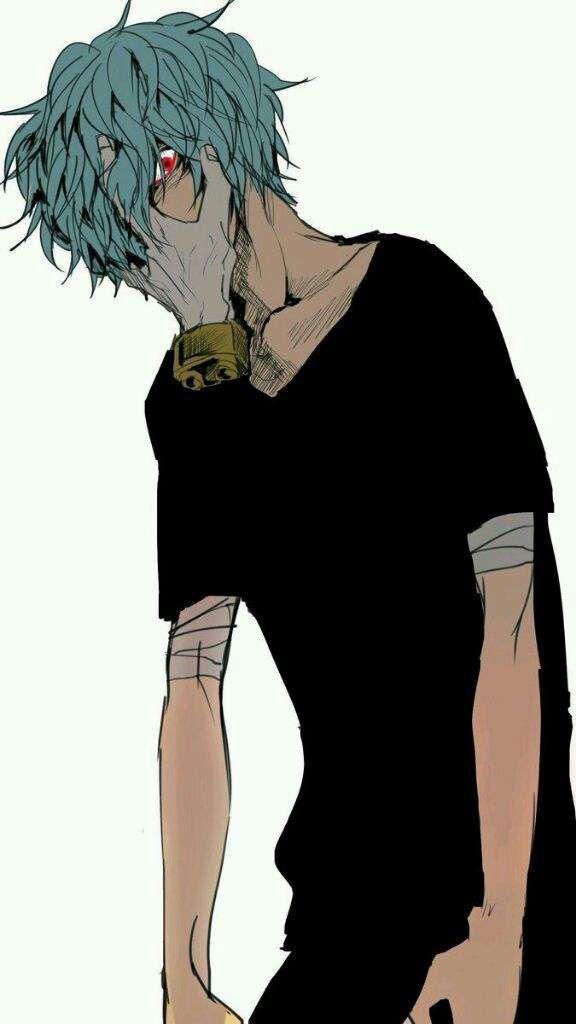 شيغاراكي (هو زعيم الفيلان-قدرته ما ادري وش اسمها بس يلمس اي شئ ويفتته)/شرير\