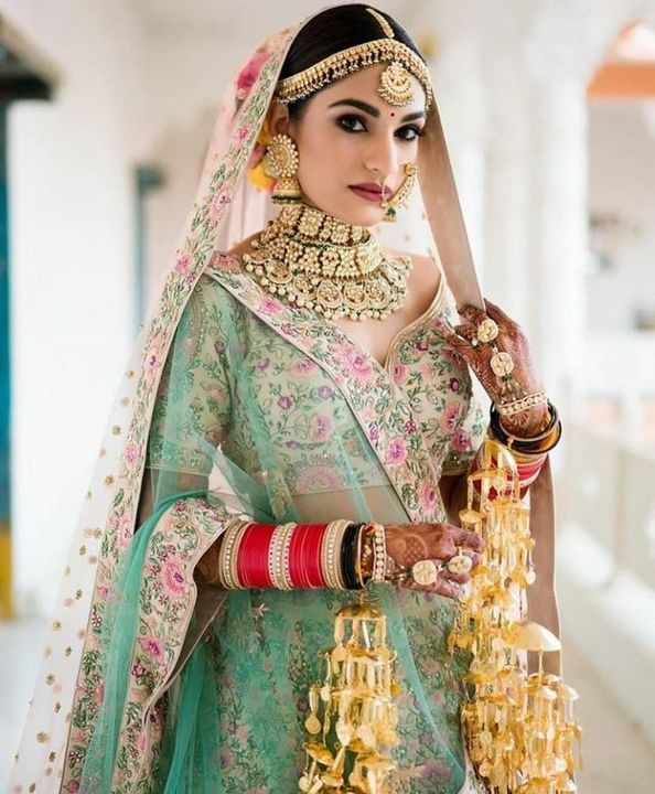 She chuckled in tears as she recalled her dreams of having a big fat indian wedding, when she herself crushed all of them