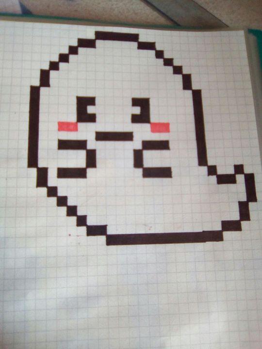 Mes Dessins En Pixel Art Fantôme Wattpad