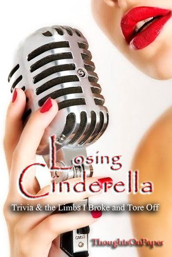 February last year, in The Wattpad Block Party - Winter Edition II, postedLosing Cinderella: Trivia & the Limbs I Broke and Tore Off where I wrote about the process Losing Cinderella went throughbefore it became what it is now