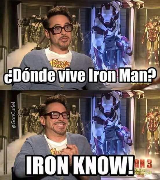 Este Tony y sus chistes malos 😂