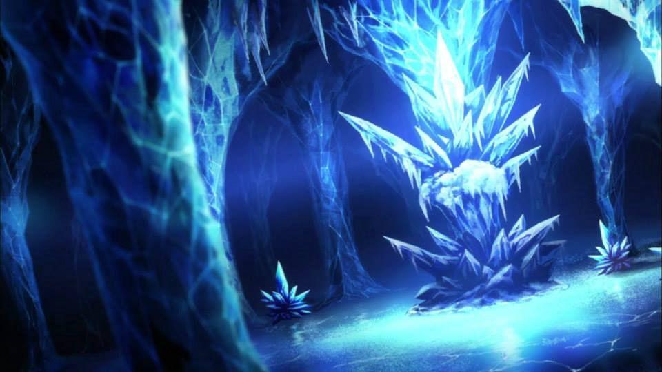 Miramos sorprendidos los que estaban enfrente de nosotros, era una caverna, una caverna echa de diamantes