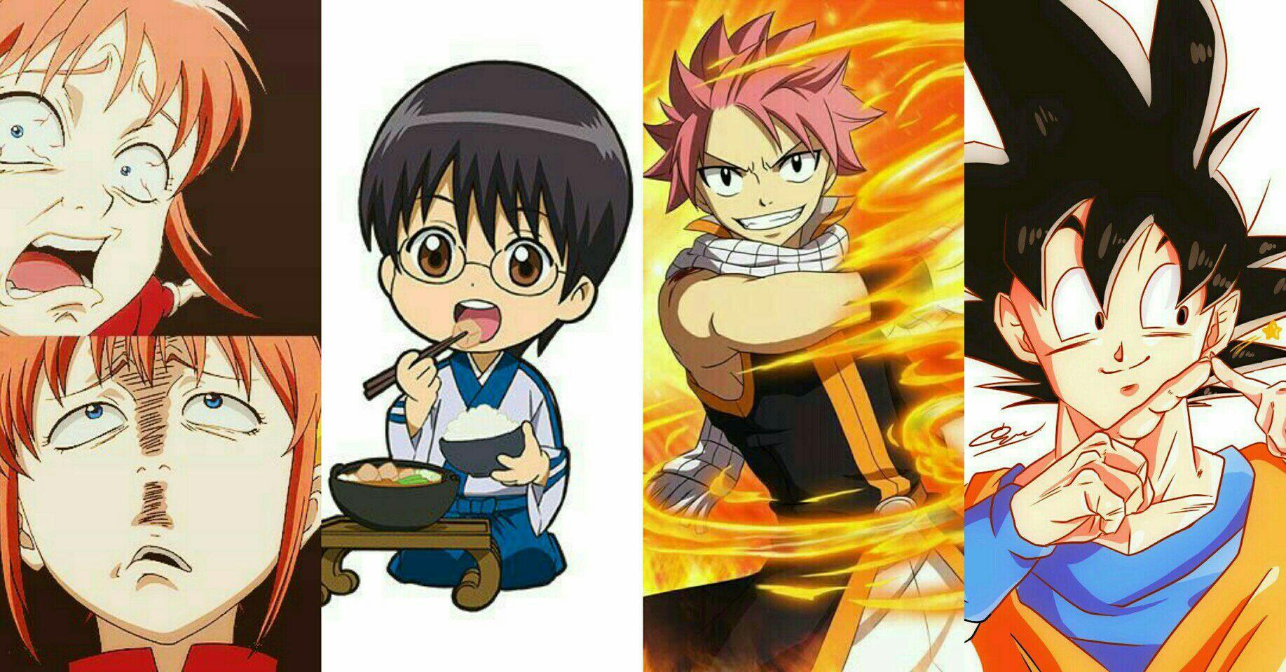 Obrolan Seputar Anime 70 Karakter Konyol Tapi Banyak