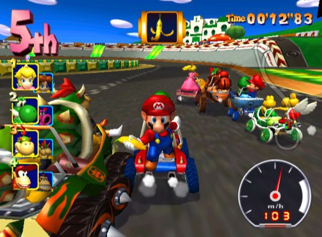 Scrapped Beta Items From Nintendo Games - Mario Kart: Double