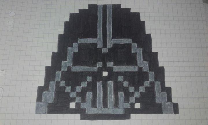 Pixel Art Terminé Dark Vador Wattpad