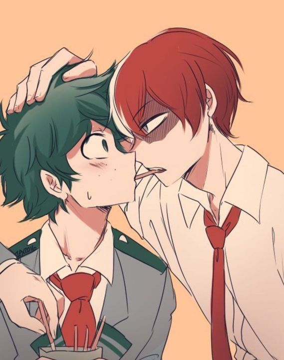 Izu: *blushes to the tips of his ears*