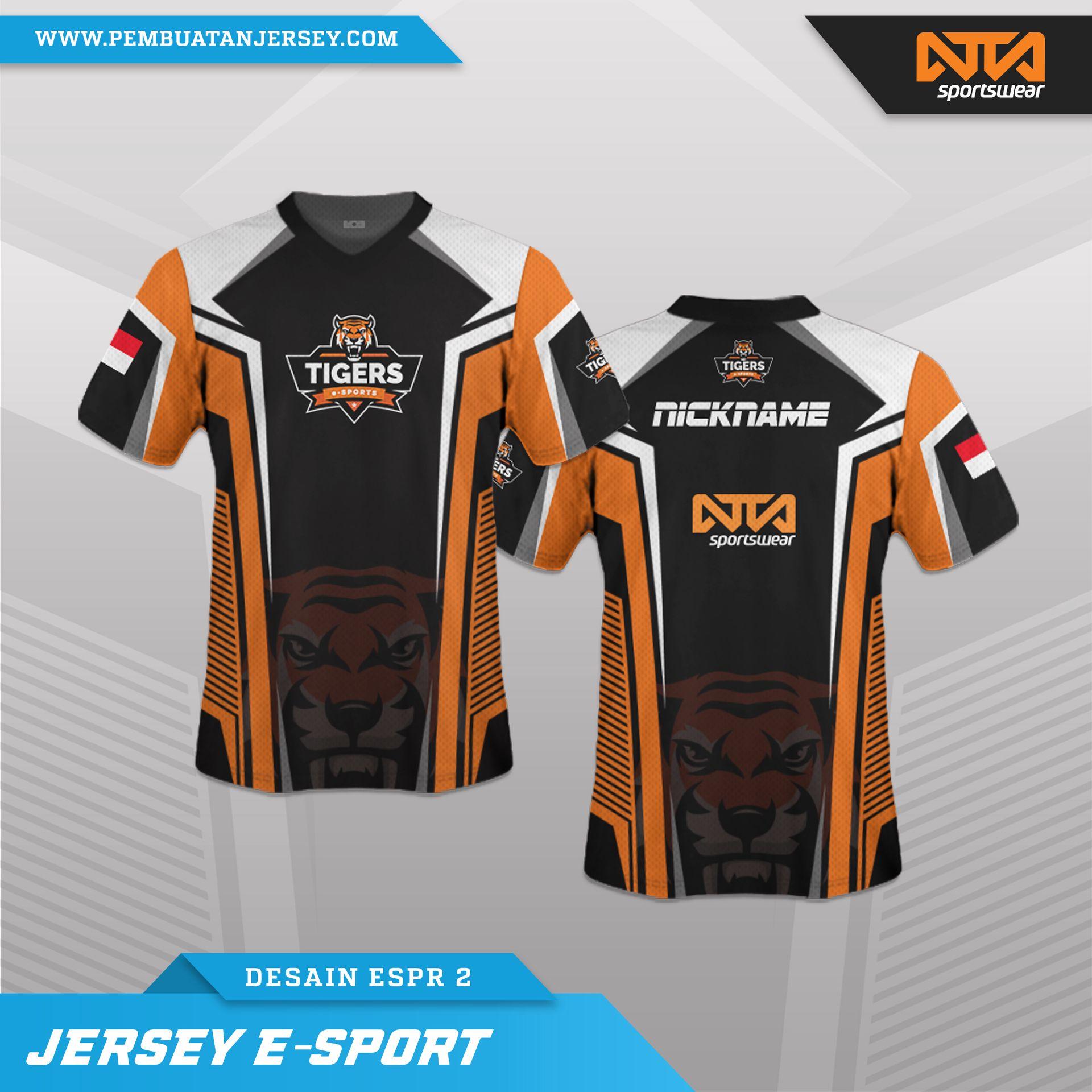 5400 Koleksi Desain Baju Esport Keren Terbaru