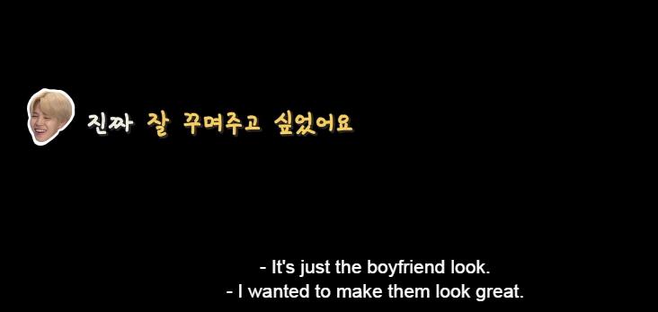 TT : Trông như là phong cách của một người bạn trai vậy ~