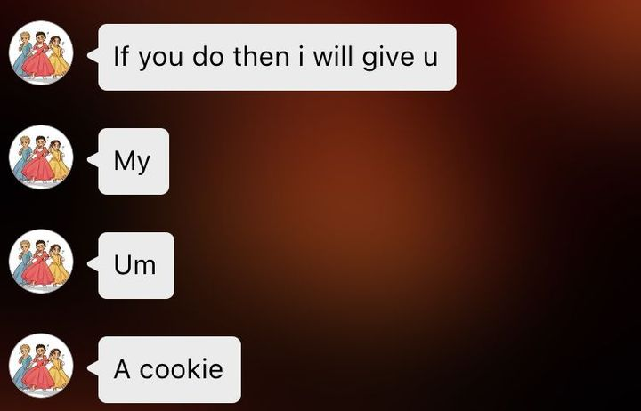 MySh0t know that I'm expecting my virtual cookie