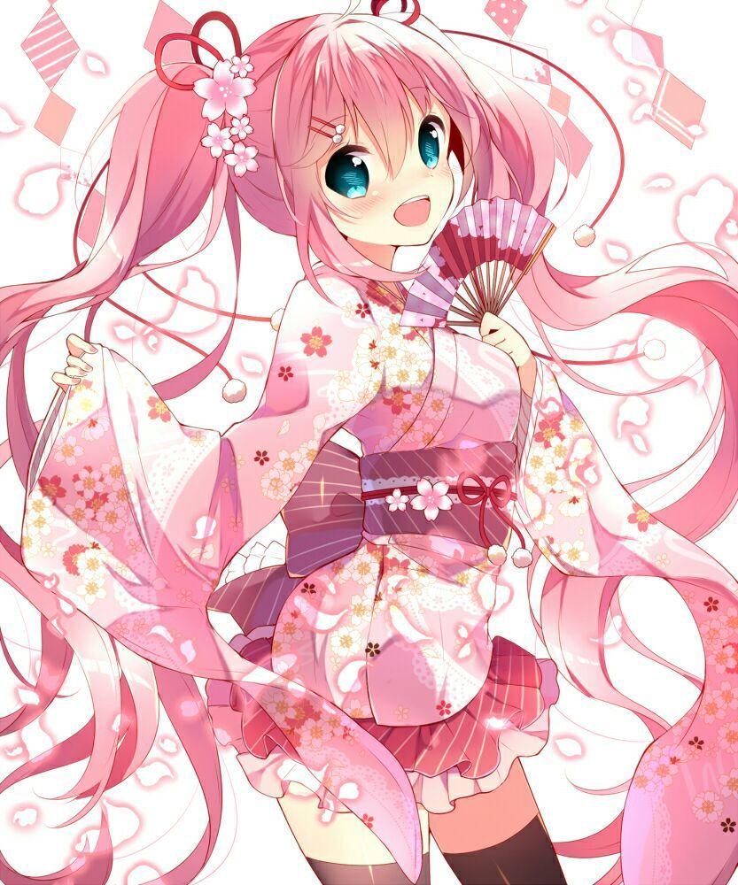 Dành cho bạn @Song-gem,ảnh Anime tóc đ� và ảnh anime tóc hồng