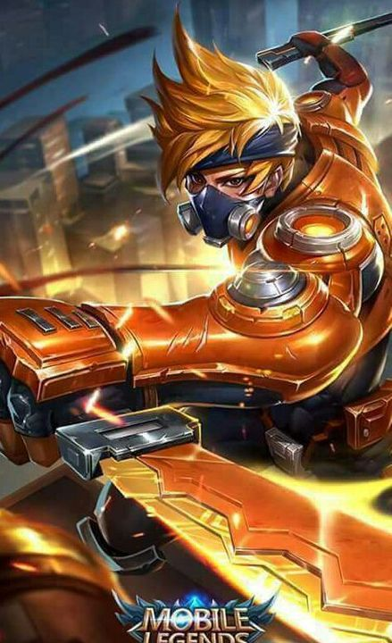 Mobile Legends Wallpapers Hayabusa Spacetime Shadow