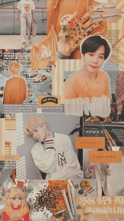 Bts Wallpapers Jimin Collage Wattpad