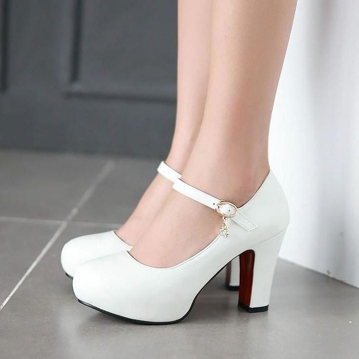 Grabbing along a pair of white heels too cause I'm so short but I'm not going to wear a six inches tall one cause I'm even struggling at two inches!