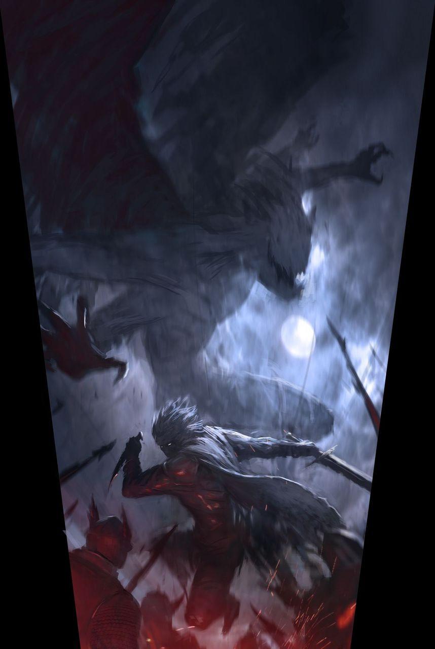 Khi khoảng cách giữa Garrett và kẻ địch chỉ còn 10m gã và Artem Demura ngay lập tức nhún người nhảy một cú cực mạnh về phía chúng kt hợp với ánh trăng từ Challenge Dying Moonlight lúc này Garrett và Artem Demura trông như những con quái