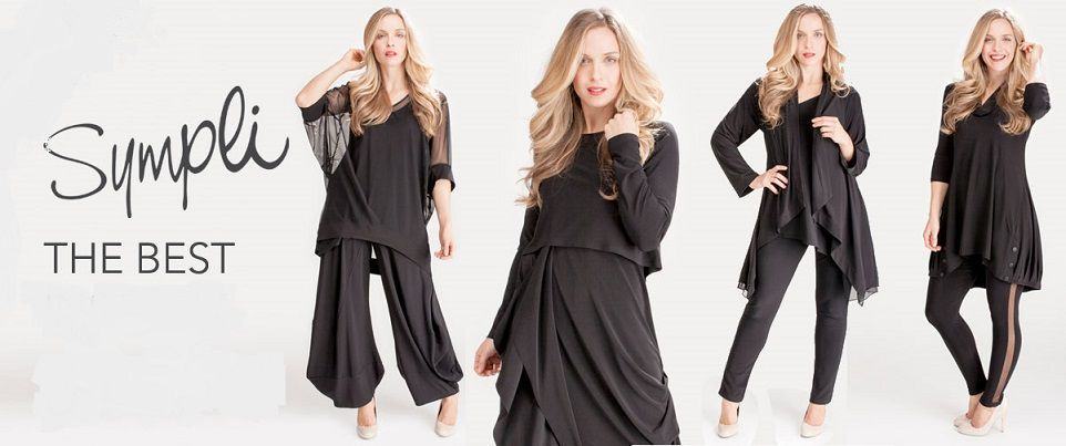 Sympli is a renowned Canadian design company famous for its flattering and flowing styles with innovative blend