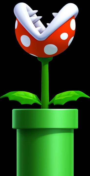 The plant started to shoot FIRE at me and the weird Yoshi creature just ate it and spat it back at it