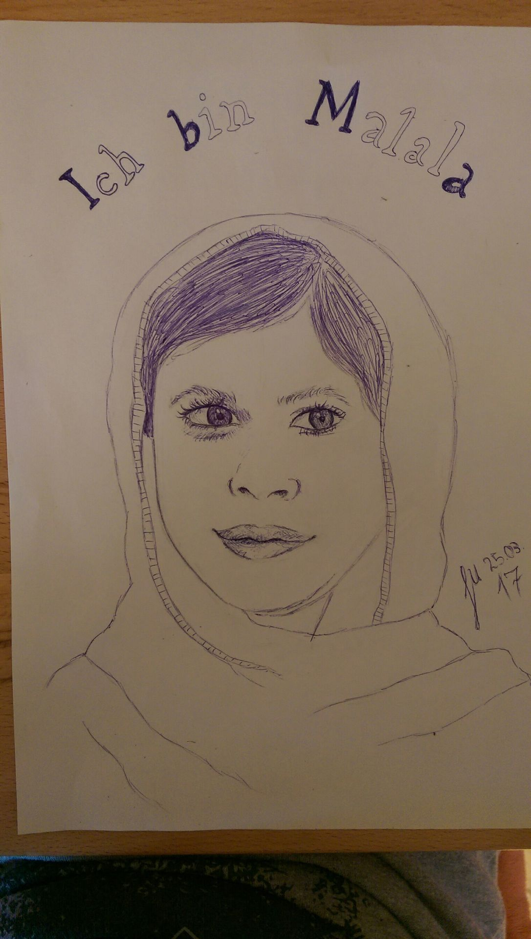 Zeichenbuch 18 - Ich bin Malala - Wattpad