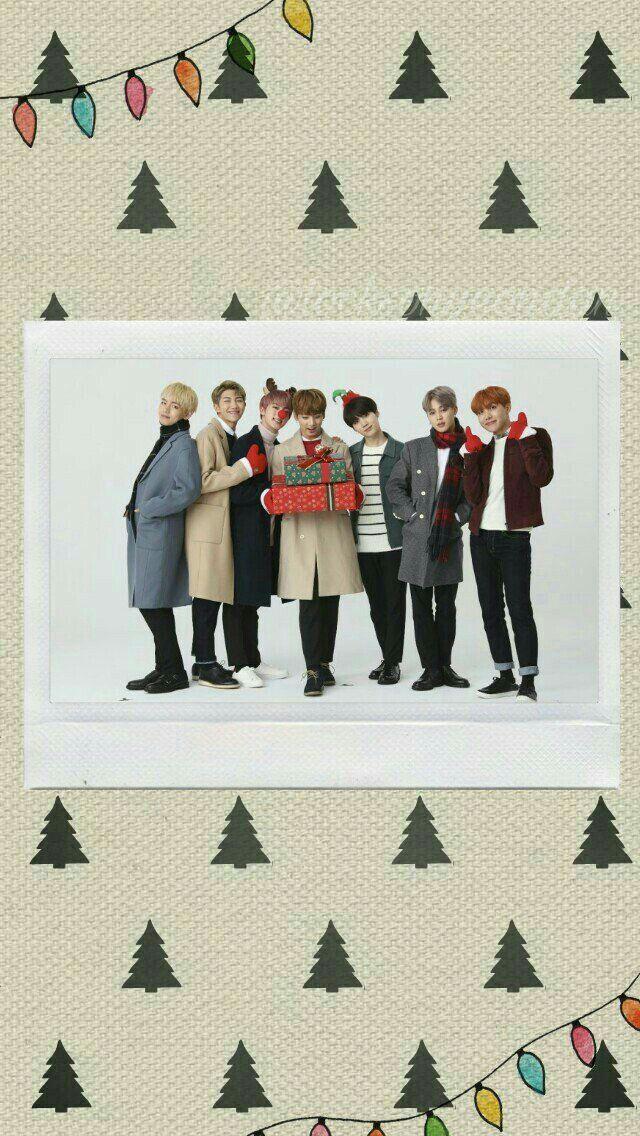 ʙᴛs ᴡᴀʟʟᴘᴀᴘᴇʀ Bts Christmas Wallpaper Wattpad