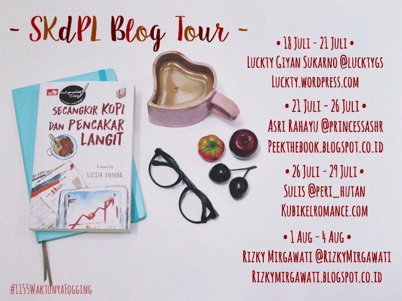 Catat yaa ini tanggal-tanggal dan alamat blog bloggernya: