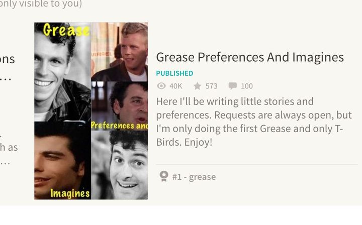 Grease Preferences And Imagines - #1?!?! (Sonny x Reader
