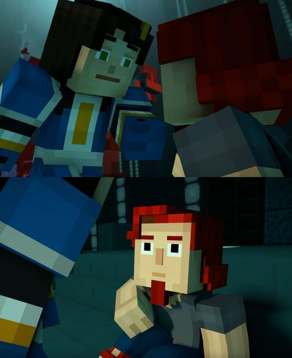 My Book Of Shipping Minecraft Story Mode My Opinions F Jesse