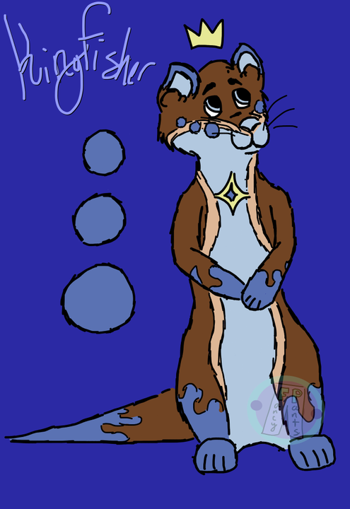 Okay, so do you guys remember that little otter doodle in the last sketch dump? The one that I said was of a character I've yet to introduce properly? Well, here he is!