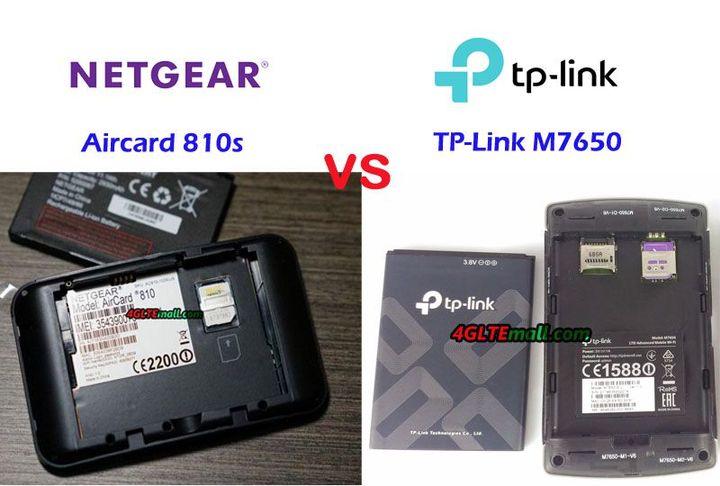 TP-Link M7650 VS Netgear Aircard 810S - Wattpad