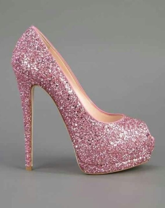 You find some heels to match