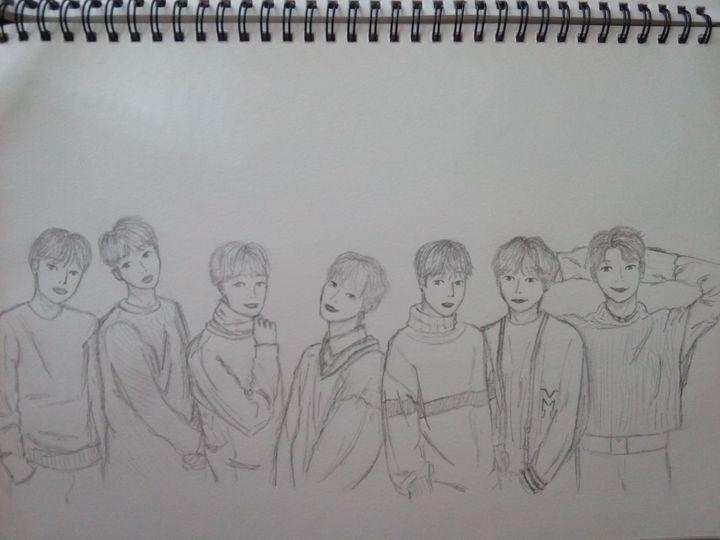 In 2019 BTS t Bts drawings