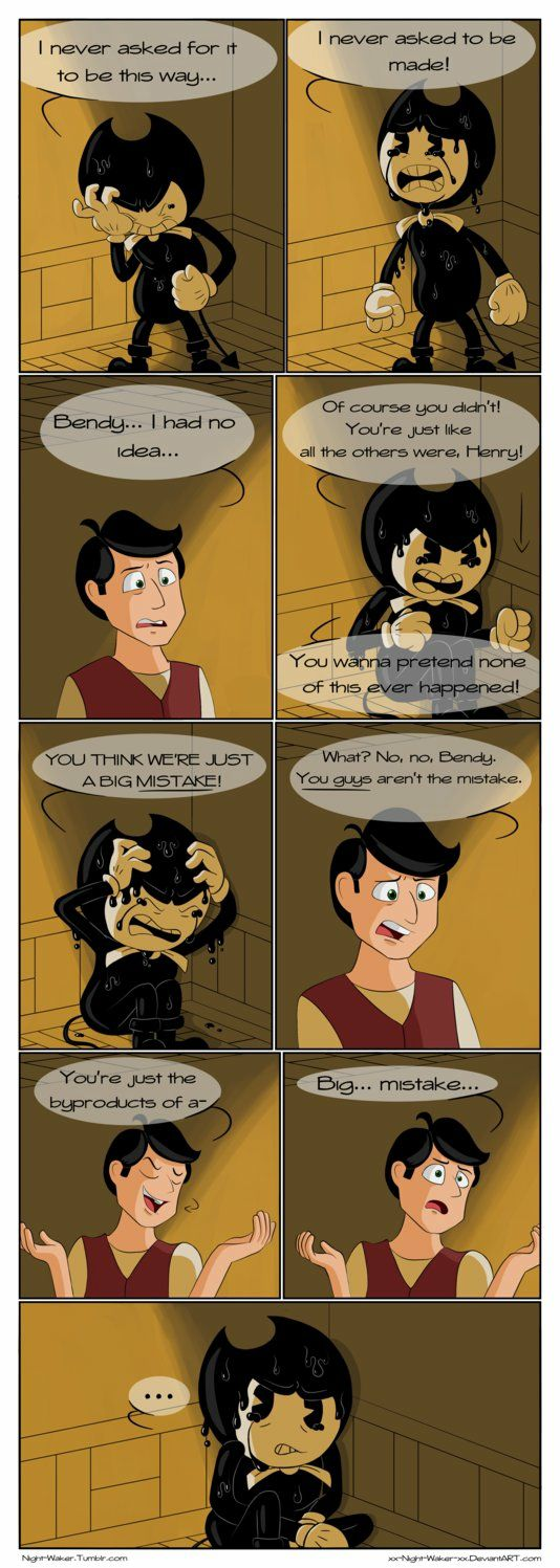 Bendy And The Ink Machine Fanfiction Henry Sick - The Best Machine