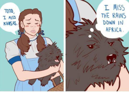 No my name isn't Dorothy but yes I have a dog