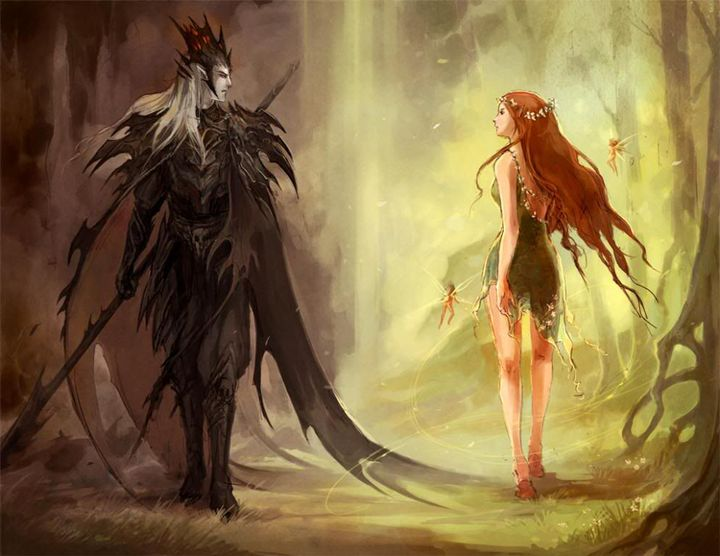 En este punto, las historias se mezclan, hay quien dice que Zeus, el padre, no queriendo tener problemas con el amo de los infiernos, dio su consentimiento a la boda, sin dejarse ablandar por las súplicas de Deméter o las lágrimas de su hija