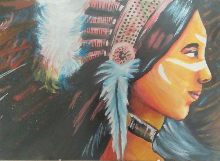 Moje Kresby A Malby Indianka Wattpad